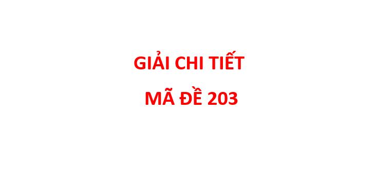 giai chi tiet de thi chinh thuc mon Hoa Hoc thpt quoc gia 2019